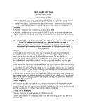 Tiêu chuẩn Việt Nam TCVN 6685:2000 - ISO 14501:1998