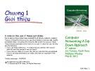 Bài giảng Computer Networking: A top down approach - Chương 1: Giới thiệu