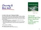 Bài giảng Computer Networking: A top down approach - Chương 8: Bảo mật