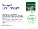 Bài giảng Computer Networking: A top down approach - Chương 3: Tầng Transport