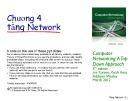 Bài giảng Computer Networking: A top down approach - Chương 4: Tầng Network