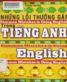 Tiếng Anh và những lỗi thường gặp: Phần 1