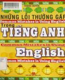Tiếng Anh và những lỗi thường gặp: Phần 2