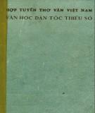 Ebook Hợp tuyển thơ văn Việt Nam - Văn học các dân tộc thiểu số: Phần 1