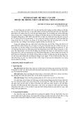 Đánh giá khu hệ thực vật nổi thuộc hệ thống thủy lợi hồ Dầu Tiếng năm 2012