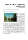 Những vấn đề thủy lợi ở đồng bằng sông Cửu Long - Nguyễn Minh Quang