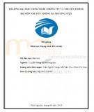 Bài giảng Dựng hình 3D cơ bản: Phần 1 - ĐH CNTT&TT