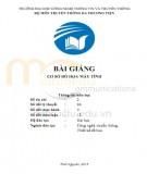 Bài giảng Dựng hình 3D nâng cao: Phần 2 - Trần Nguyễn Duy Trung