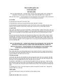 Tiêu chuẩn Quốc gia TCVN 6263:2007 - ISO 8261:2001