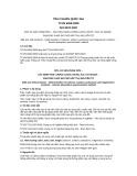 Tiêu chuẩn Quốc gia TCVN 6269:2008 - ISO 8070:2007