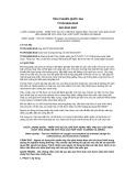 Tiêu chuẩn Quốc gia TCVN 6226:2012 - ISO 8192:2007