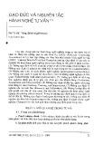 Đạo đức và nguyên tắc hành nghề tư vấn - Mai Thị Việt Thắng (dịch và giới thiệu)