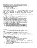 Bài tập Di truyền tổng hợp (Phần tự luận)
