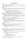 Bài tập Di truyền phân li độc lập 2
