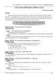 Giải toán hình học không gian - GV. Lâm Tấn Dũng