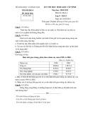 Đề thi học sinh giỏi cấp tỉnh Thanh Hóa môn thi: Địa lí 9 (Năm học 2010-2011