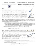 Đề thi Olympic Hà Nội, Amsterdam 2011 có đáp án môn thi: Vật lý 10 không chuyên