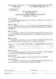 Đề thi chọn học sinh giỏi lớp 12 THPT cấp tỉnh Đồng Tháp môn: Lịch sử (Năm học 2012-2013)