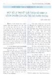 Một số lý thuyết giải thích về hành vi lệch chuẩn của các tác giả nước ngoài - Lưu Song Hà