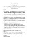 Tiêu chuẩn Việt Nam TCVN 6152:1996 - ISO 9855:1993