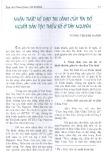 Nhận thức về đạo tin lành của tín đồ người dân tộc thiểu số ở Tây Nguyên - Vương Thị Kim Oanh