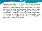 Bài giảng Những đặc trưng đạo đức của người thầy thuốc Việt Nam - GV. Trần Hoài Thu