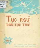 Dân tộc Thái và văn hóa tục ngữ  (Tập 2): Phần 2