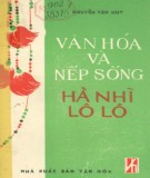 Hà Nhì - Lô Lô - Văn hóa và phong tục tập quán: Phần 2