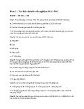Trắc nghiệm môn: Pháp luật đại cương (Có giải đáp)