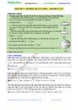 Bồi dưỡng kiến thức ôn luyện thi đại học môn: Vật lý - Cơ học vật rắn
