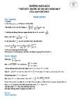 Hướng dẫn giải thử sức trước kỳ thi số 3 năm 2012 của tạp chí THTT môn: Toán