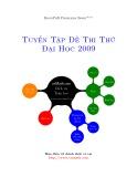 Tuyển tập đề thi thử đại học năm 2009 môn: Toán (Có đáp án)