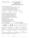 Đề kiểm tra chất lượng học kỳ 1 có đáp án môn thi: Vật lý 12 - Đề số 5 (Năm học 2015-2016)