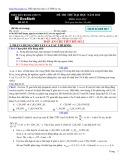 Đề thi thử đại học có đáp án năm 2012 môn: Hoá học - Mã đề thi ZKB 2012