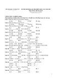 Đề thi minh họa kỳ thi THPT quốc gia năm 2015 có đáp án môn: Tiếng Trung Quốc