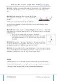 Đề thi chọn học sinh giỏi: Vật lý 10 - Vòng 1