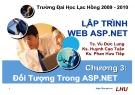 Bài giảng Lập trình Web ASP.NET: Chương 3 - ĐH Lạc Hồng