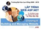 Bài giảng Lập trình Web ASP.NET: Chương 6 - ĐH Lạc Hồng