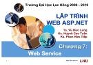 Bài giảng Lập trình Web ASP.NET: Chương 7- ĐH Lạc Hồng