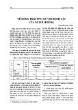 Về động thái ứng xử với bệnh tật của người Hmông - Nguyễn Văn Thắng
