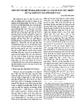 Một số vấn đề về đạo Tin Lành của người dân tộc thiểu số tại chỗ Tây Nguyên hiện nay - Nguyễn Văn Minh