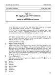 Tiêu chuẩn Việt Nam TCVN 5617-1991