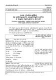 Tiêu chuẩn bảo vệ thực vật: Tiêu chuẩn Việt Nam TCVN 5140-90