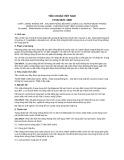 Tiêu chuẩn Việt Nam TCVN 5978:1995