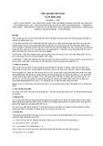 Tiêu chuẩn Việt Nam TCVN 5989:1995 - ISO 5666-1:1983