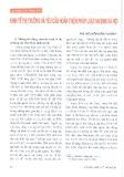 Kinh tế thị trường và yêu cầu hoàn thiện pháp luật an sinh xã hội - ThS. Nguyễn Hiền Phương