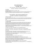 Tiêu chuẩn Quốc gia TCVN 5300:2009