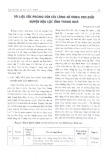 Tài liệu sắc phong của các làng xã vùng ven biển huyện Hậu Lộc tỉnh Thanh Hóa - Phạm Văn Tuấn