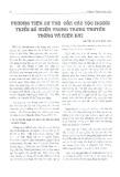 Phương tiện cư trú của các tộc người thiểu số miền Trung trong truyền thống và hiện đại - Nguyễn Phước Bảo Đàn