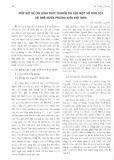 Mấy nét về các hình thức truyền tin của một số dân tộc và nhà nước phong kiến Việt Nam - Vũ Trường Giang